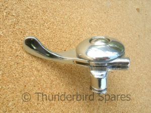 "Magneto/Air Lever, Chromed, RH, for 7/8"" bars"